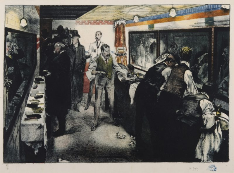 John Copley, <i>A Lavatory</i>, 1909
