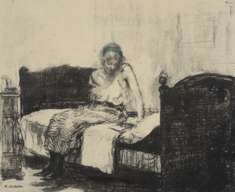 Ethel Gabain, <i>The Striped Petticoat</i>