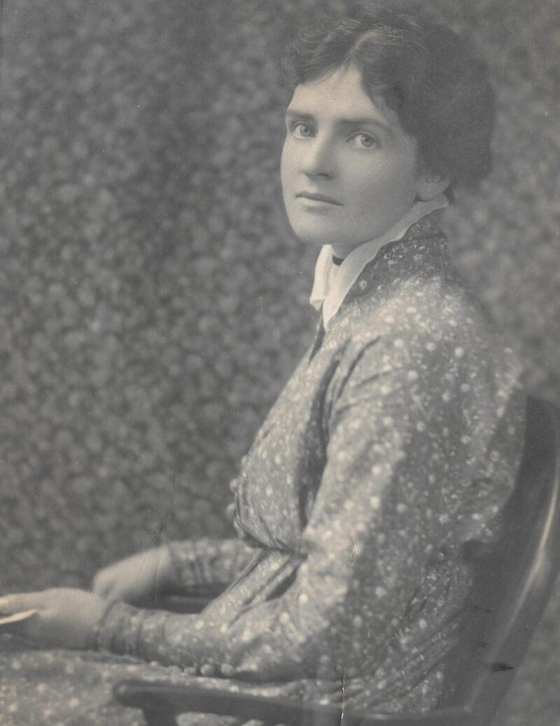 Ethel Gabain as a young woman