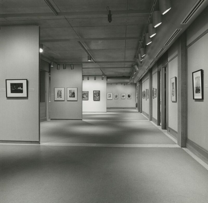 Installation view of the exhibition <i>John Copley</i> at the Yale Center for British Art, 1990